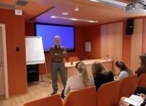 V. Dubovyk spoke on international conflicts for the Academy of Leadership participants